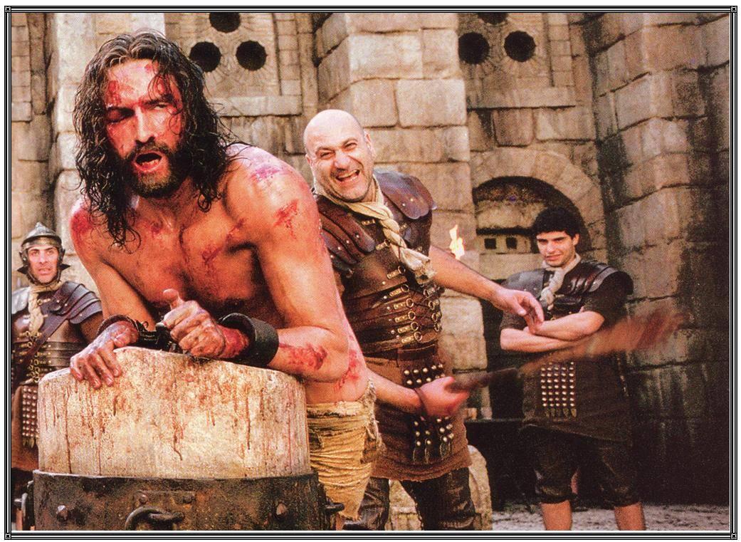 Jesus being flogged-Consider Him