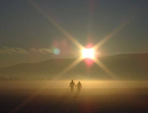 Leaning on Her Lover - image sunset-801933_640 on https://debrawebster.org