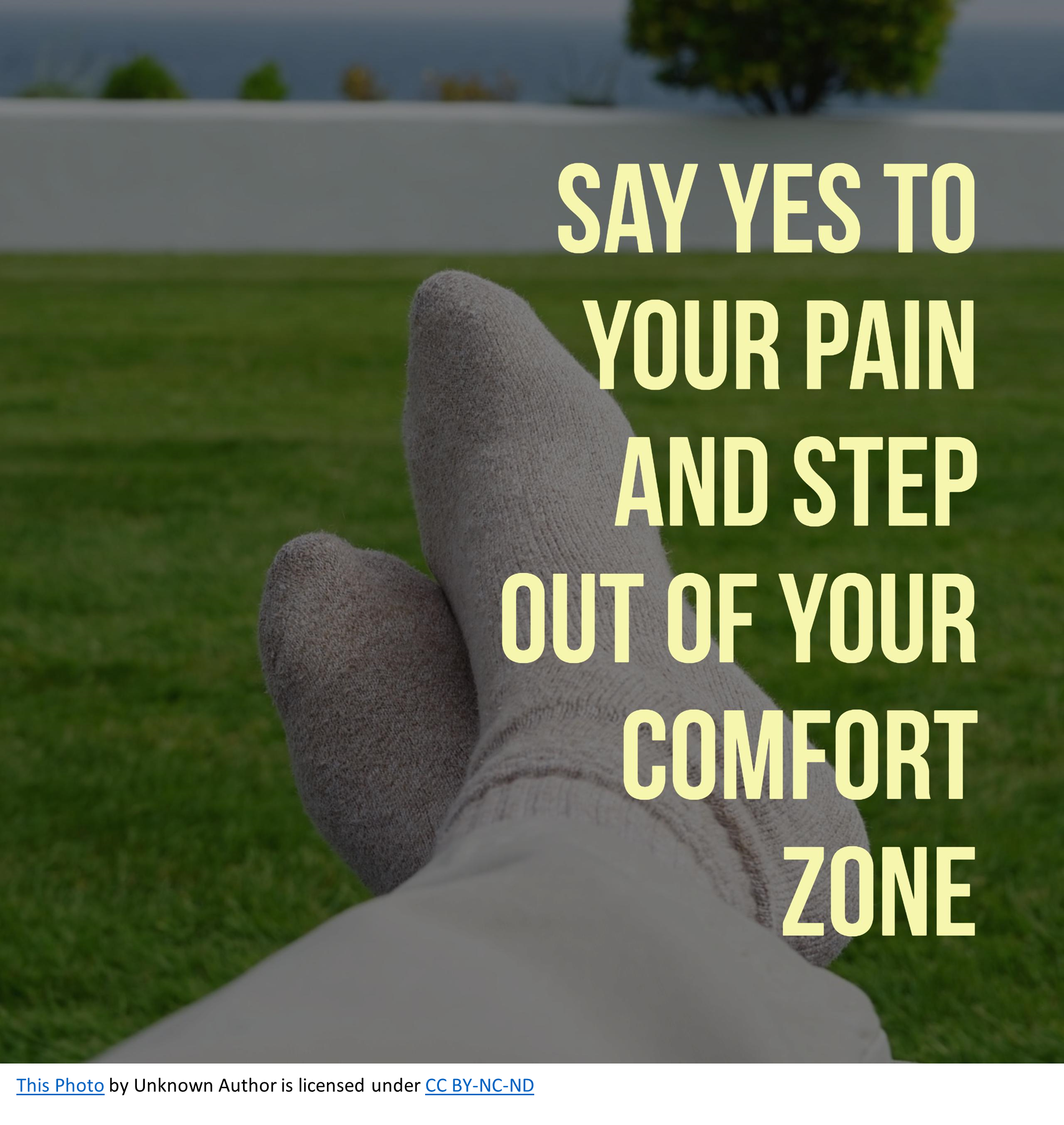 Say yes to your pain and step out of your comfort zone. What is God Doing??